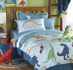Quality boys bedding sets online from Marquis & Dawe. A fantastic range of boys bedding in stock, buy luxury boys bedding today. Dinosaur Bedding, Dinosaur Bedroom, Kids Bedding Sets, Duvet Sets, Bedroom Themes, Bedroom Decor, Bedroom Ideas, Kids Bedroom, Design Bedroom