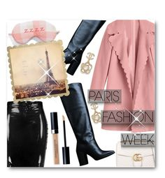 """""""Pack and Go: Paris Fashion Week"""" by matildiwinky ❤ liked on Polyvore featuring Stuart Weitzman, Boohoo, Make + Model, Chanel, Gucci, Christian Dior, parisfashionweek and Packandgo"""