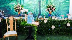 gold-and-blue-princess-cinderella-party-decorations-ideas-with-3d-visual-background.jpg (1280×720)