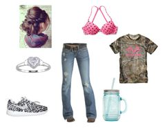 """Hey Guys I Miss You!!!!!"" by johndeerebabe on Polyvore featuring Victoria's Secret, Emerson, Realtree and ALADDIN"