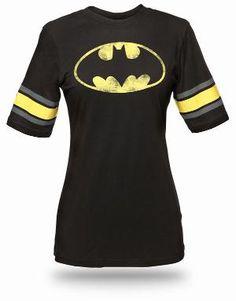 Batman Hockey Stripe Babydoll
