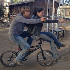 Deeks and Kensi<3 love the two of them!:)