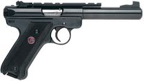 "Ruger Mark III Target Pistol (Model 10101). 22LR, 9.75"" x 5.50"" x 1.20"", 42 oz., Capacity 10."