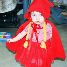 my love , Jimena  . Caperutita Roja, disfraz , bebé , love , carnaval , #jimenaMola