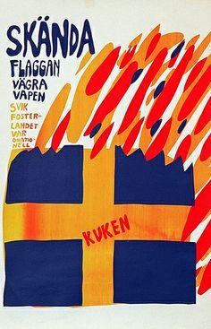 Skända flaggan by Carl Johan de Geer