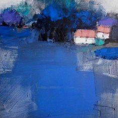 Roger Lane - Blue Landscape