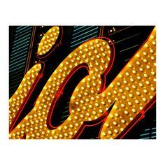 Greeting Card,5.5x4.25,Note Card,Las Vegas,Neon,Casino Art,Affordable Art, Fine Art Photography,Vintage,Kitsch,Retro,Wild West Art,Original, by TheWildWestArtStore on Etsy