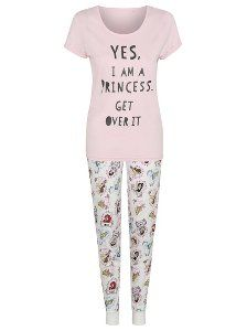 Disney Princess Pyjama Set, read reviews and buy online at George. Shop from our latest range in Women. Once upon a time, in a kingdom far, far away there wa...
