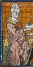 On October 6, in the seventh year of King Baldwin IV, Amalrich, patriarch of Jerusalem, an extremely simple man of practically no importance, died after twenty years in that office. Within ten days thereafter, Heraclius, archbishop of Caesarea, was chosen to fill his place.