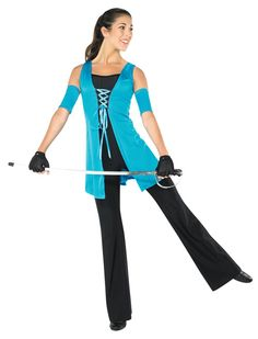 colorguard | StylePlus Lace Up Tunic - Color Guard Uniforms - Smith Walbridge Band ...