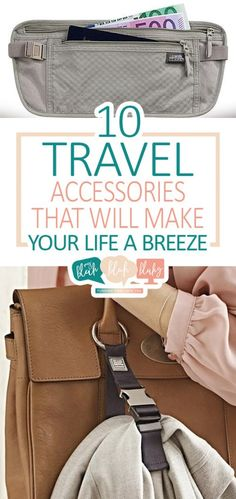 10 Travel Accessories That Will Make Your Life a Breeze| Travel Accessories, Travel Accessories You Need, Travel, Travel Hacks, Things to Know While Traveling, Traveling Tips and Tricks, Popular Pin