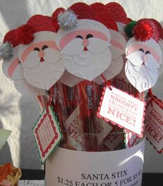 Santa Stix     Christmas Craft Fair  2011 by artful whimsies - Cards and Paper Crafts at Splitcoaststampers