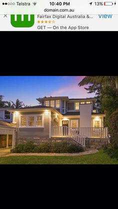 Avalon NSW Kerb Appeal, Australia, Mansions, House Styles, Home Decor, Decoration Home, Manor Houses, Room Decor