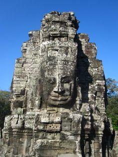 Siem Reap, #Cambodia - Bayon Temple