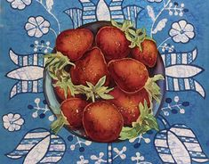 """Check out new work on my @Behance portfolio: """"Strawberries"""" http://be.net/gallery/67538431/Strawberries"""