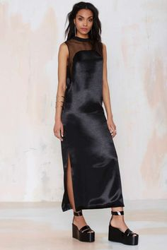 Karla Spetic Dream Master Satin Dress - Going Out | Midi + Maxi | LBD | Solid | Dresses