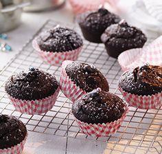 Zimt-Schoko Mini-Muffins