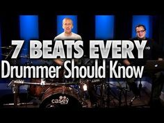 7 Beats Every Drummer Should Know - Drum Lessons