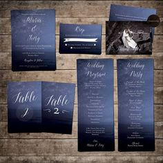 Hey, I found this really awesome Etsy listing at https://www.etsy.com/listing/197177046/night-sky-wedding-invitation-suite-blue