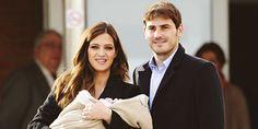 Iker Casillas & Martin Casillas Carbonero & Sara carbonero