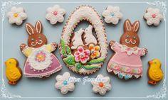 Easter cookies-bunnies