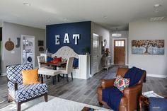 Ozark Craftsman C1 Floor Plan - Living Room - Enclave at Eagle Cliff - Evansville, IN