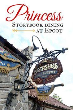 Disney Princess Storybook Dining Epcot: Akershus Royal Banquet Hall