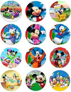 mickey+mouse+clubhouse+club+house+cake+toppers+cupcakes+cookies