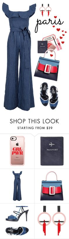 """Un Ticket Pour Paris"" by ms-wednesday-addams ❤ liked on Polyvore featuring Casetify, FOSSIL, Alexis, Karl Lagerfeld, Fendi, Toolally and 3 Concept Eyes"