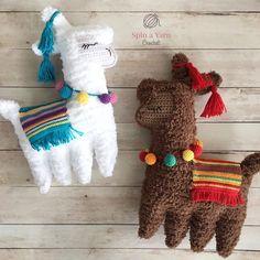 Ragdoll Llama Free Crochet Pattern
