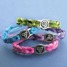 Leather Celtic Bracelets