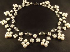 """How to do necklace """" Pearl squares"""""""