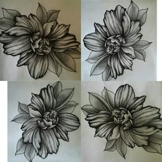 #myart #flowers #draw #tattoo #ink