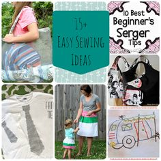 www.nap-timecreations.com: 15+ Easy Sewing Ideas