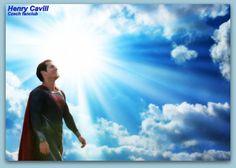 Henry Cavill Superman my love ! <3