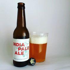 La Cerveza del Viernes: Sanfrutos IPA. Style: American  IPA. Alc. 6% Vol. 33cl. IBU: 40 Brewery: Cerveza SanFrutos #Segovia #Spain