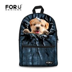Preppy Style Backpack for Teenagers Girls Animal Cute Cat Printing Children School Backpack Kids Women Casual Travel Rucksack