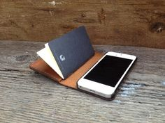 theGOODbook is a leather wallet, iPhone 5 case and sketchbook all in one.