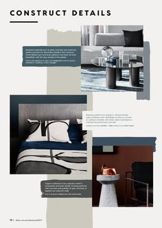 Construct - A luxe foundation | 2017 Dulux Colour Trends | Antidote: A Colour Cure (Trends) by Dulux Australia - issuu