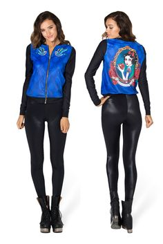 Snow White GF Bomber - LIMITED by Black Milk Clothing $110AUD