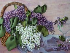 """Gallery.ru / """"Расцвела сирень-черемуха в саду"""" - Мои вышивки 3 - valya-50"""
