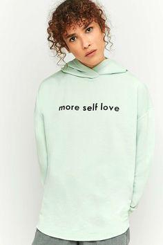 BDG - Sweat à capuche More Self Love