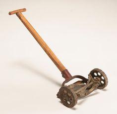 Salesman's sample push lawn mower;