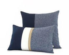 Color Block Pillows & More... FRESH HOME DECOR par JillianReneDecor