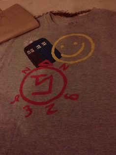 SuperWhoLock TARDIS shirt via Etsy