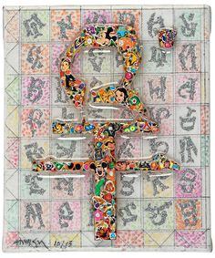 """The one the only #GonkarGyatso in #Benetton's new #ImagoMundi #exhibition #MadebyTibetans, opening today in #Venice.  """"Untitled,"""" 2013, #Tibet #Tibetan #art #contemporary #groupshow"""