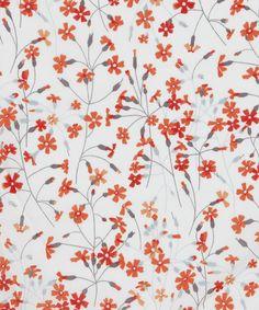 Suria D Tana Lawn, Liberty Art Fabrics. Shop more from the Liberty Art Fabrics… Graphic Patterns, Textile Patterns, Flower Patterns, Print Patterns, Textiles, Liberty Art Fabrics, Liberty Print, Flower Wallpaper, Pattern Wallpaper