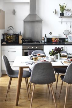 styling a winter brunch with Argos | making over my new dining area | open plan living | home inspiration http://hubz.info/117/inspiring-female-body-transformations