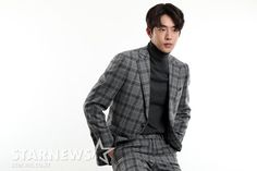 Nam Joo Hyuk | #NamJooHyuk Nam Joohyuk, Joo Hyuk, Men Sweater, Turtle Neck, Sweaters, Fashion, Moda, La Mode, Pullover