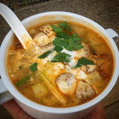 Tom kha @sweetiethai #eatgr1 #eatgr #tomkha #thaifood #soup #experiencegr #grnow #grmi #grgram #grandrapids #grfoodie #westmichigan #themitten #mittenlove #eattheworld  #eater #forkyeah #grandrapidsmi #michiganders #puremichigan #eeeeeats #616